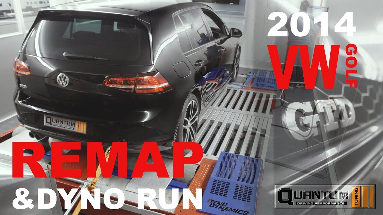 2014 VW GOLF Remap (Dyno Run)
