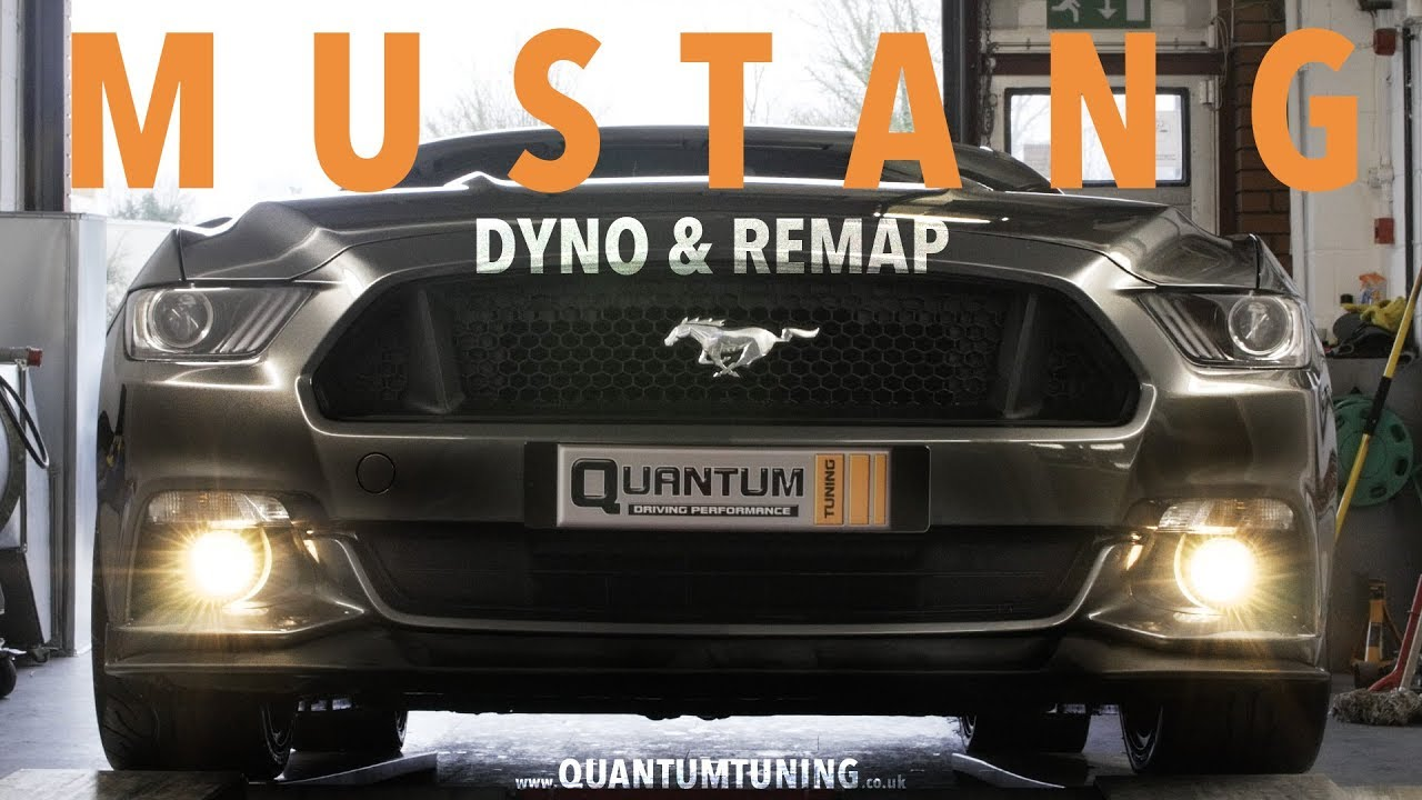 FORD MUSTANG 5.0 V8 Dyno Run & Remap