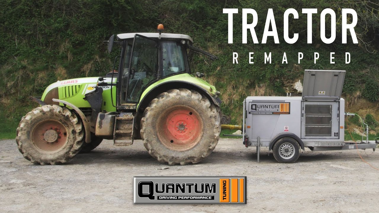 Tractor Dyno run & Remap