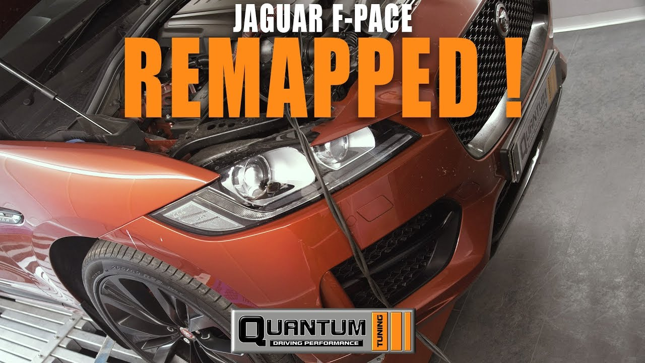 Jaguar F-Pace Dyno Run & Remap