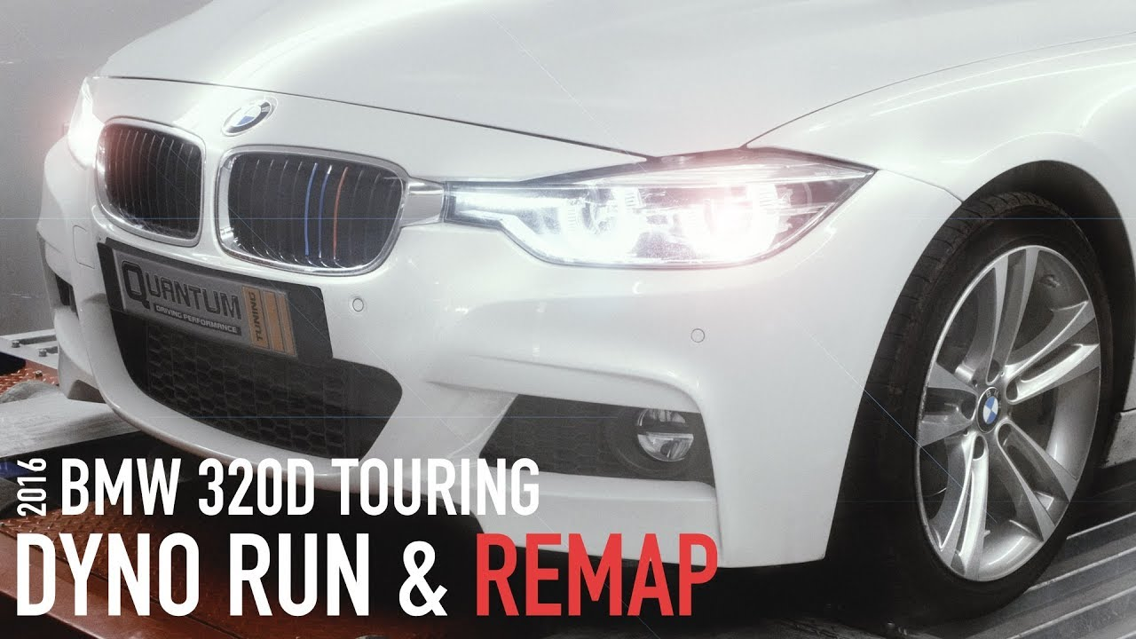 2016 BMW 320D Touring (Dyno Run)