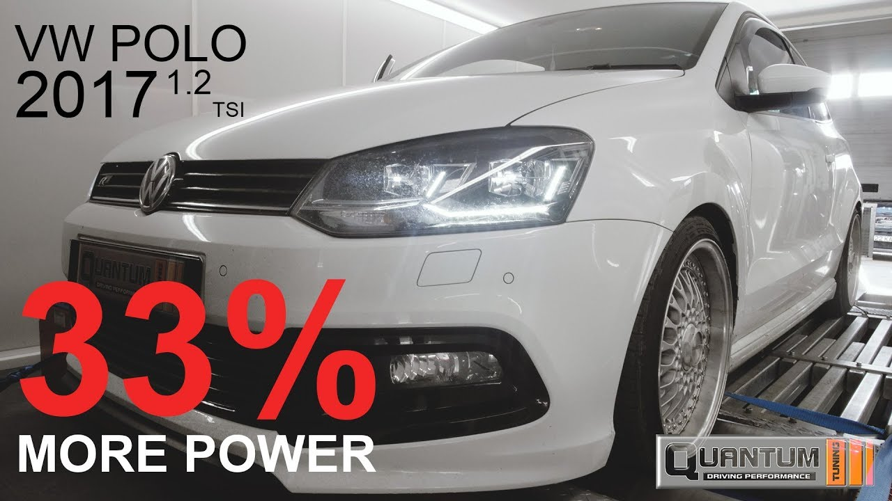 2017 VW POLO 1.2 TSI Remap (Dyno Run)