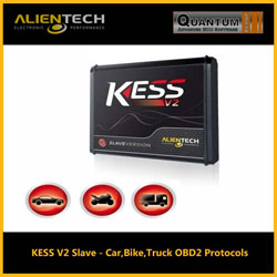 Kess V2 Slave with Car, Van and Truck protocols