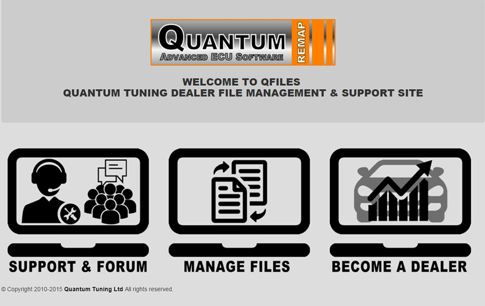 QFiles - Quantum Dealer File Exchange Portal